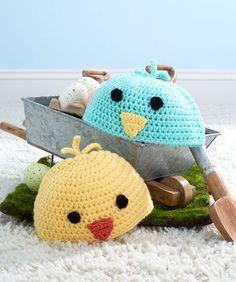 Baby Chick Hats Free Crochet Pattern