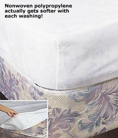 $12 Fitted Spunbonded Mattress Cover - Queen