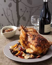 Moroccan Roasted Chicken Recipe on Food & Wine
