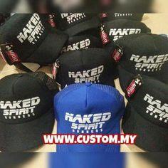 Okay! Done print Trucker Cap untuk pelanggan @custom_my . Terima...