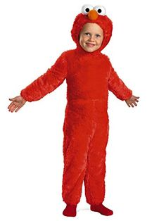 Sesame Street Toddler & Little Boys Plush Red Elmo Costume http://www.beststreetstyle.com/sesame-street-toddler-little-boys-plush-red-elmo-costume-2/ #fashion   Sesame Street Toddler & Little Boys Plush Red Elmo Costume  This great looking plush Elmo costume will provide your little one with hours or dress up fun!   Toddler & Boy's Sizes  Includes: Jumpsuit and character headpiece  Great for Halloween or dress up