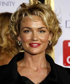 Hairstyles For Women Over 50 With Fine Hair | Fine hair, Curly ...