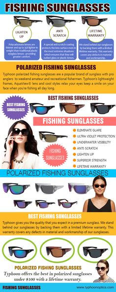 9ca1219c573 A good pair of polarized Fishing Sunglasses will make your fishing trip a  much more enjoyable