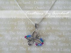 Thyroid Cancer Awareness Necklace on Etsy, $20.00
