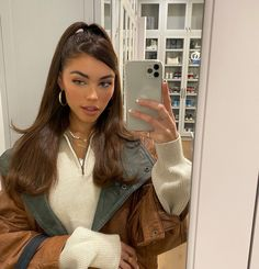 Estilo Madison Beer, Madison Beer Hair, Madison Beer Makeup, Madison Beer Outfits, Baddie Hairstyles, Trendy Hairstyles, High Ponytail Hairstyles, Aesthetic Hair, Aesthetic Clothes