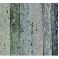 Dutch Wallcoverings Vliesbehang Sloophout Groen 7328-3