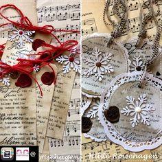 I dag åpner @papirdesign luke nr19. Og jeg bidrar med inspirasjon til pakkelapper på årets julegaver #gaveinnpakning #giftwrapping #pakkelapper  #julegaver #snarterdetjul #dtbidrag