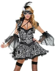 super sexy masquerade costume gown by Forplay    #Masquerade #Mask