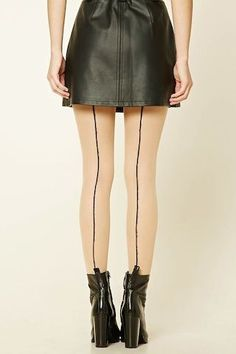 0def8aac26 FOREVER 21 BALLET SLIPPER TIGHTS - A pair of sheer tights featuring a  ballet slipper colorblock