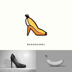 Indonesian Designer Combines Unlikely Pairs Of Things To Create Clever Logos Clever Logo, Unique Logo, Creative Logo, Minimal Logo Design, Graphic Design Tips, Logo Type, Logos Tattoo, Logo Design Inspiration, Icon Design