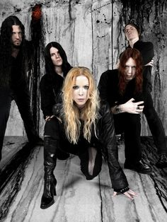 Arch Enemy - Angela Gossow is gorgeous! And Michael Amott... no comments.