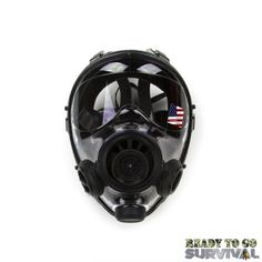 The SGE 400/3 gas mask has 3 filter ports (left, right and center) and is offered with an optional hood and canteen drinking system. Soft inner orinasal cup quick release harness with six adjustable straps.