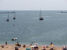 Beach at Ferragudo - The Algarve, Portugal - http://xblogs.me/beach-at-ferragudo-the-algarve-portugal-2/  #Portugal