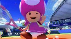 Mario Tennis Ultra Smash WiiU – Toadette Trailer  HD [Toddina]