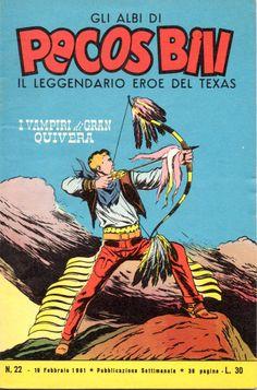 I VAMPIRI DI GRAN QUIVERA - Albi di Pecos Bill n.° 22 - 19 Febbraio 1961