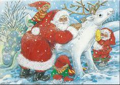 Lumiveistos Gnomes, Woodland, Disney Characters, Fictional Characters, Christmas Cards, Disney Princess, Olympics, Fun, Christmas Greetings Cards