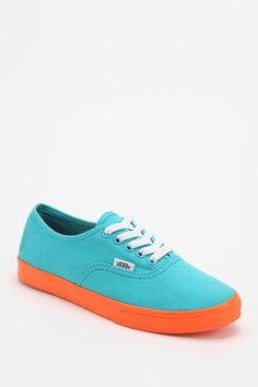 Vans Authentic Neon Scuba Canvas Sneaker #urbanoutfitters