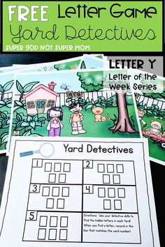 Free Letter Y Week Activity! Grab this free printable and practice letter recognition with your preschool or kindergarten student! Alphabet Activities, Kindergarten Activities, Book Activities, Preschool Education, Spanish Activities, Preschool Themes, Kindergarten Literacy, Educational Activities, Learning Spanish