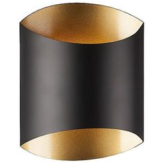 Single lamp LED wall sconce with either a flat black with fine gold interior or white with sleek silver interior unique metal casing. Equipped with our powerful AC LED technology, fully dimmable. Fixture Dimensions: X X Lamp Type: Black Wall Sconce, Indoor Wall Sconces, Wall Sconce Lighting, Chandelier Lighting, Hallway Sconces, Vanity Lighting, Kitchen Lighting, Bathroom Sconces, Lighting Store