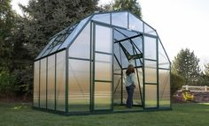 The largest DIY kit available of the Grandio Summit Greenhouse, the 12x32 is the most space you can imagine for any amateur or professional gardener. The possibilites are endless for year round growing in the Summit. Featuring 10mm Twin-wall Polycarbonate panels and 1.6mm aluminum frame as well as a standard magnetic catch and heavy duty lockable door handles. Carefully designed, engineered and built to the highest quality standards.