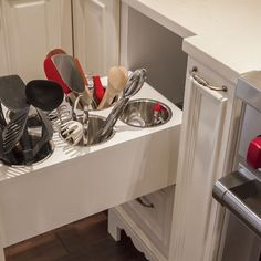 This makes so much more sense than all the tools in a drawer.