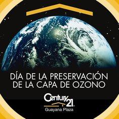 La capa de ozono protege nuestro #hogar la Tierra.  #DiaDeLaProteccionDeLaCapaDeOzono #16Sep #Century21  #Guayana