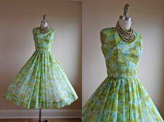 vintag dressess, 1950s dresses