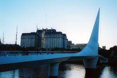 Puente de la Mujer- Puerto Madero  Buenos Aires