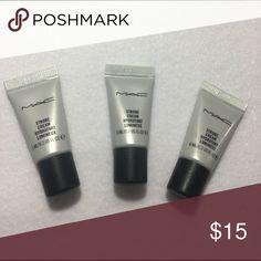 3 Mac Strobe Creams Brand new!! Sample size. MAC Cosmetics Makeup