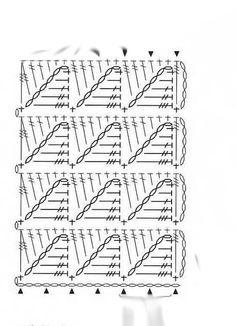 crochet stitch chart | Crochet Stitch - Chart | Crochet Diagrams