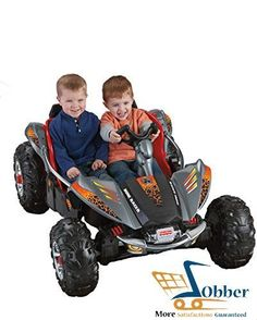 Fisher Price Kids Ride On Toys Power Wheels Children Dune Racer Lava Red Buggy #FisherPrice Power Wheel Cars, Power Wheels, Kids Ride On Toys, Kids Toys, Kids Bike, Kids Atv, Fisher Price, Childcare, Dune