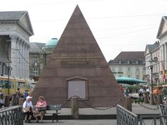 The Pyramid in the Marktplatz - Karlsruhe