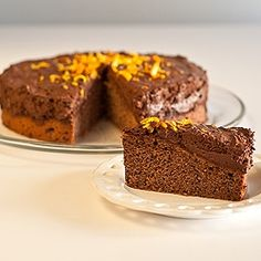 Chocolate Mousse Cake by suzanneper