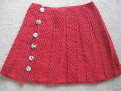Ravelry: Agadooknit's Audubon Skirt.  Made in Tatamy Tweed Worsted.
