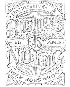 For all the freelancers business owners and self employed. Type by @vichcraft - #typegang - free fonts at typegang.com | typegang.com #typegang #typography