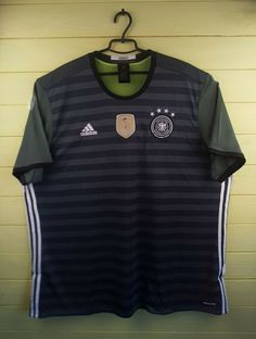 8e196d8090f Advertisement(eBay) 5 5 Germany soccer jersey 3XL 2016 away shirt AA0110  football