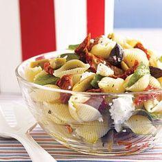 Mediterranean Pasta Salad Recipe | MyRecipes.com
