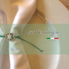Il tocco in più ;* #party #design #festa #voilà #bracciale #cammeo #tartaruga #mare #bimbo