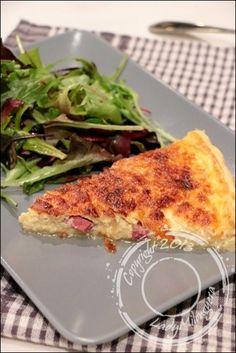 Quiche-lorraine-Cyril-Lignac (5) French Food, Entrees, Brunch, Gluten, Chicken, Quiches, Cooking, Pizza, Recipes