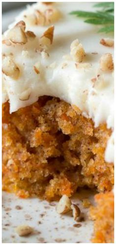 Carrot Sheet Cake ~