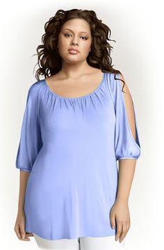 Patrón gratis: blusa de verano para tallas grandes