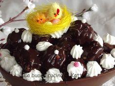 La buona cucina di Katty: Profiteroles nell'uovo di Pasqua