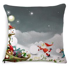 Cover Shell Shape Christmas Sofa Bed Home Decoration Festival Pillow Case Cushion Cove Ninasill Pillow Case ** Be sure to check out this awesome product.