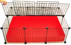 Best Guinea Pig Cage Covered. Buy gritd cages here.
