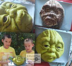 12 Besten Yoda Bilder Auf Pinterest Yoda Cake Bakken Und Star Wars