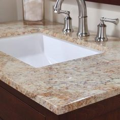 Stone Effects Chip Sample In Tuscan Sun   Use This Live Piece To Help  Select The Right Material And Color For Your Vanity Top.