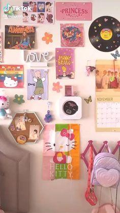 Indie Room Decor, Cute Room Decor, Aesthetic Room Decor, Room Design Bedroom, Room Ideas Bedroom, Otaku Room, Chill Room, Pastel Room, Cute Room Ideas