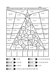 math worksheet : 1000 ideas about christmas worksheets on pinterest  worksheets  : Free Christmas Multiplication Worksheets