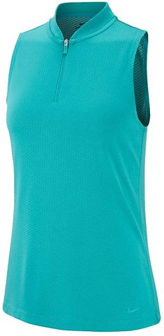 Engineered with Dri-Fit technology these womens Nike sleeveless blade golf polo shirts feature moisture wicking properties that help keep you dry and comfortable! Nike Womens Golf, Womens Golf Polo, Womens Golf Shirts, Golf Polo Shirts, Ladies Golf, Athletic Looks, Golf Outfit, Blade, Technology
