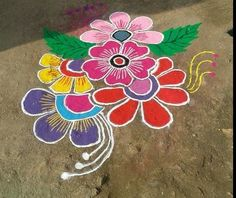 Easy and Simple Rangoli Designs